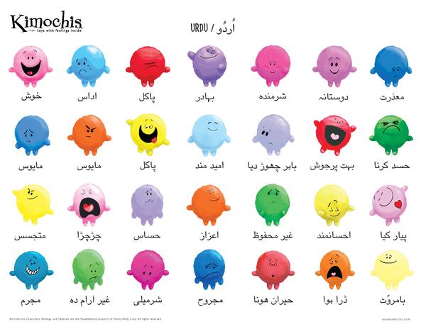 Urdu – Feeling Chart
