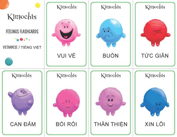Vietnamese – Feeling Flashcards