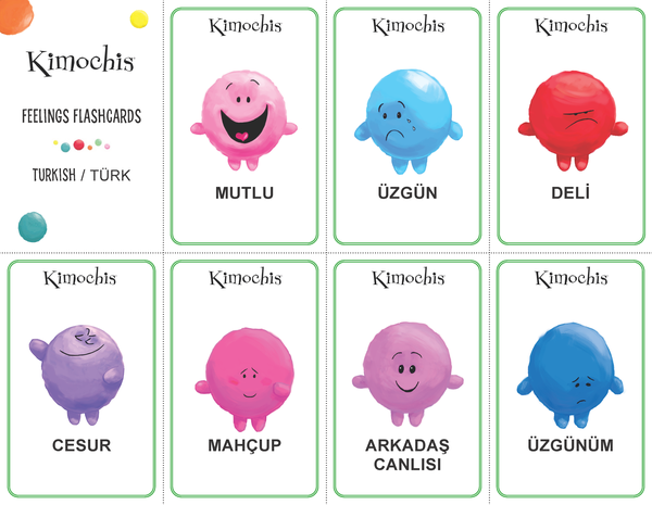 Turkish – Feeling Flashcards