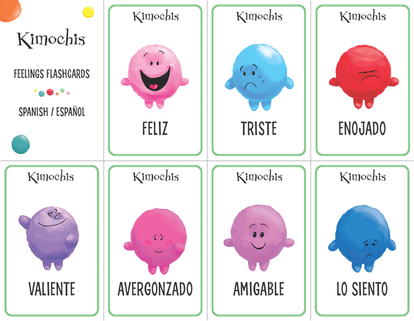Spanish – Feeling Flashcards