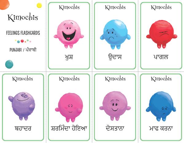 Punjabi – Feeling Flashcards