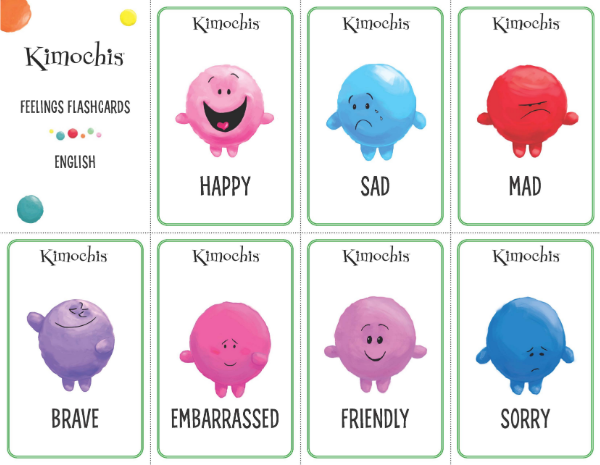 English – Feeling Flashcards