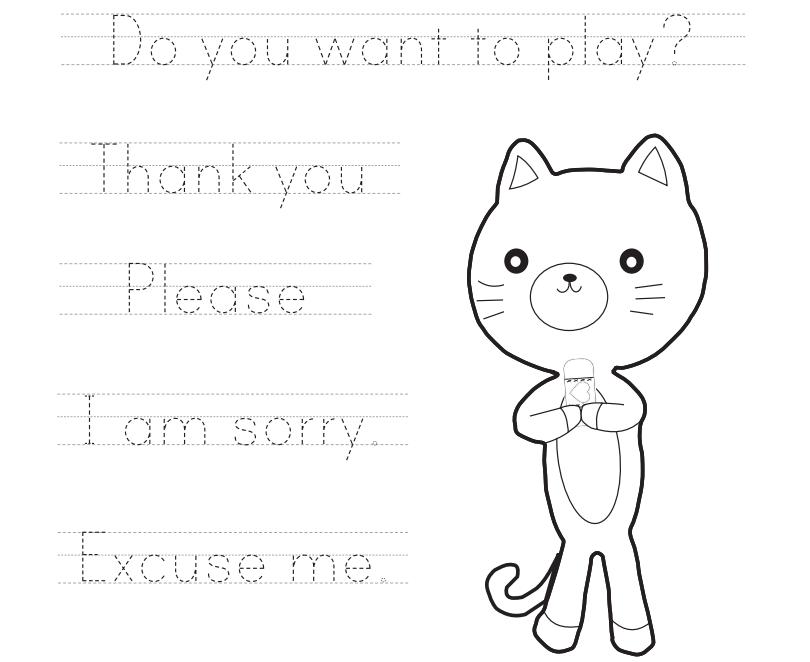 Cat Handout