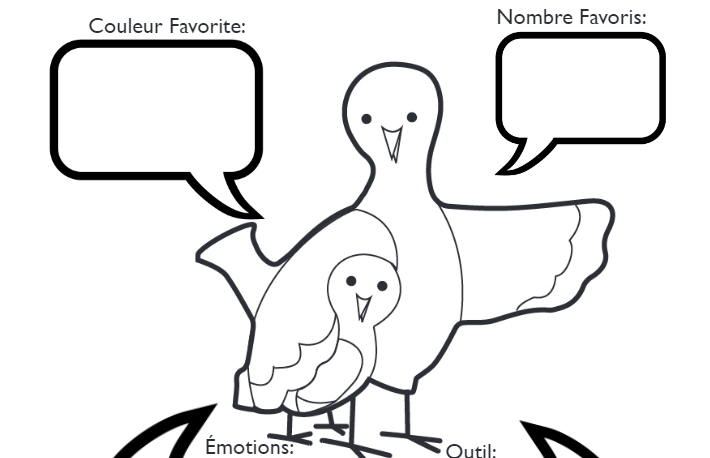 French Lovey Dove Handout