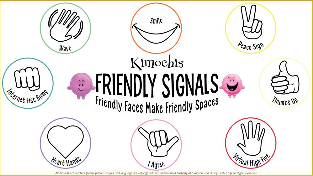 Friendly Signals Sign – Color